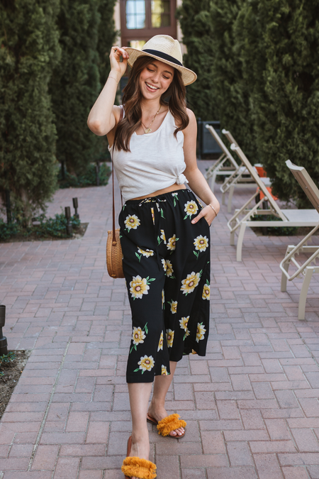 Tessa Flower Pants