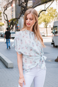 Wrapped in Love Blouse - Amaryllis Land