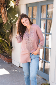 Del Mar Tunic - Amaryllis Land
