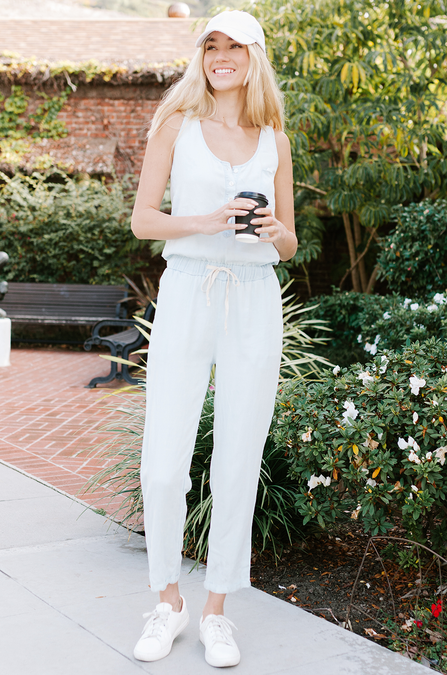 Charlie Chambray Jumpsuit