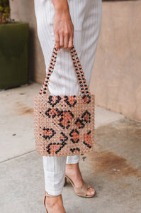 Wild Thing Beaded Bag - Amaryllis Land