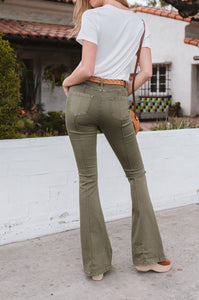 Robyn Back-Seam Flare Denim - Amaryllis Land