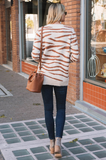 Ari Eyelash Tiger Sweater