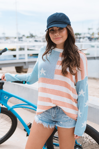 Americana Knit Sweater