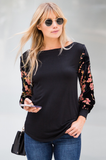Velvet Burnout Long Sleeve - Amaryllis Land