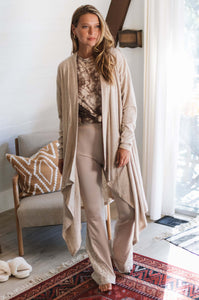 Dynasty Draped Cardigan