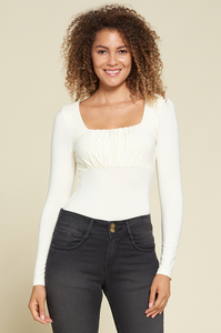 Sky Forest Square Neck Top