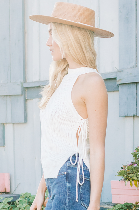 Conch Shell Crochet Top