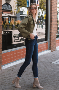 Jemma Denim Jacket - Amaryllis Land