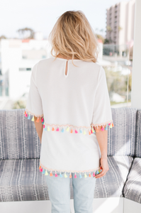 Coastline Blouse - Amaryllis Land
