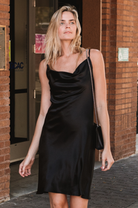 Lafayette 100% Silk Slip Dress - Amaryllis Land