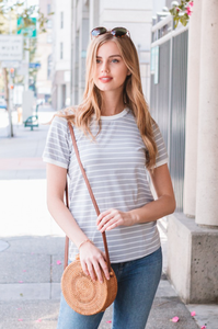 Emerson Striped Tee - Amaryllis Land