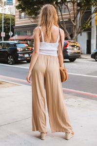 Cara Wide-Leg Trousers - Amaryllis Land