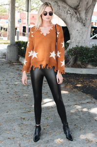 Star Crossed Sweater - Amaryllis Land
