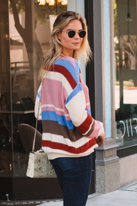 Smartie Stripe Sweater