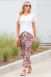 Like a Dream Lounge Pants (Camo)