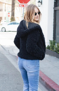 All Faux You Fur Jacket - Amaryllis Land