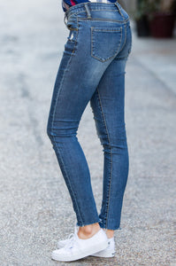 Free Spirit Distressed Denim - Amaryllis Land