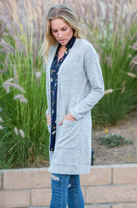 Cozy Two Pocket Cardigan - Amaryllis Land