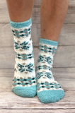 Winter Wonderland Fuzzy Socks