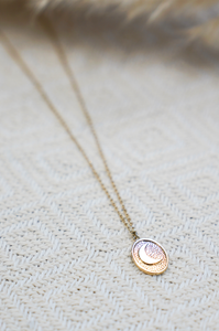 Luna Medallion Necklace