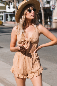 Act Natural Romper - Amaryllis Land
