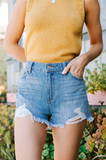 Boardwalk Stroll Denim Shorts