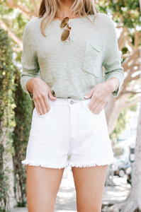 Coastline Denim Shorts