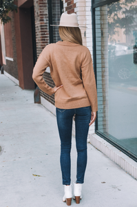 Carolina Caramel Sweater