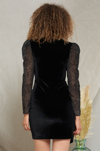 Darlington Velvet Dress