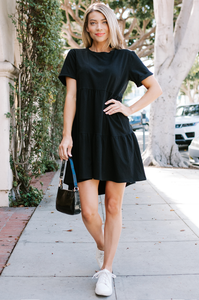 Coronado Tiered T-Shirt Dress