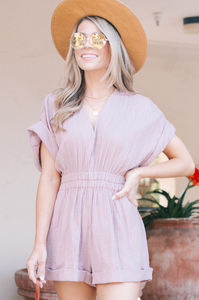 Made Me Blush Romper