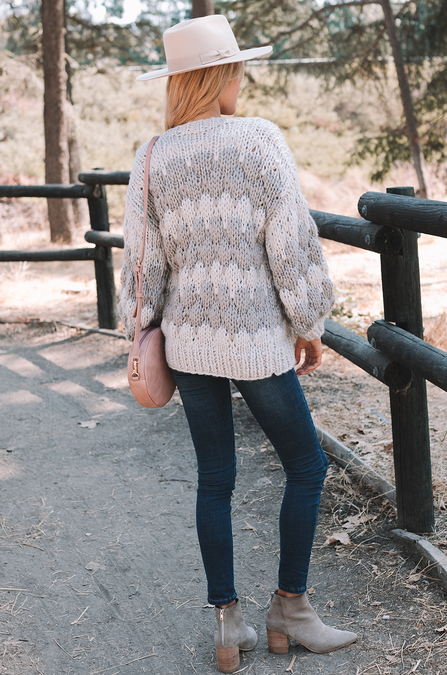 First Signs of Fall Knit Cardigan