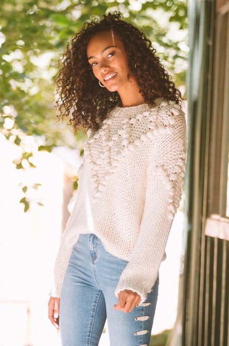Roslyn Knitted Sweater