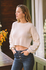 Royal Mile Cropped Sweater