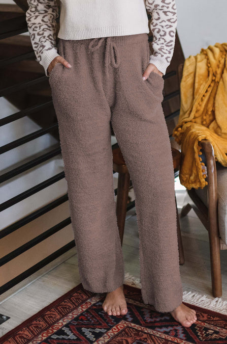 CloudKnit Drawstring Wide Leg Pants