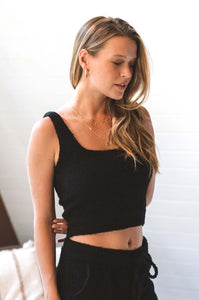 CloudKnit Cropped Cami