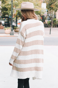 Worth the Hype Stripe Cardi