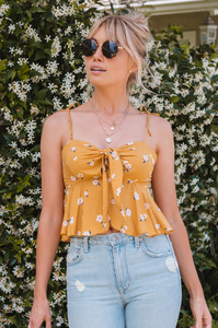 Honeycomb Crop Top - Amaryllis Land