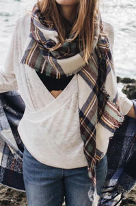All Plaid Out Scarf
