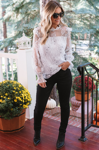 Laikyn Lace Top
