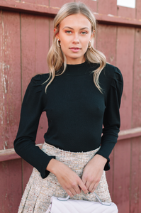 Preston Puff Sleeve Top