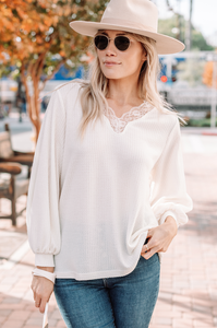 Livia Lace Sweater