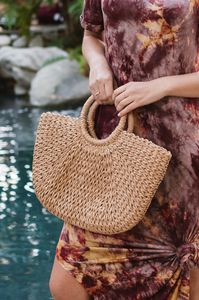 Bahama Basket Bag - Amaryllis Land