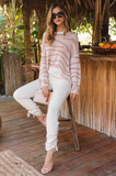 Distressed Tiger Sweater - Amaryllis Land