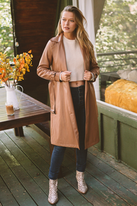 Swiss Alps Trench Coat