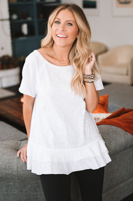 Southern Style Tiered Tee
