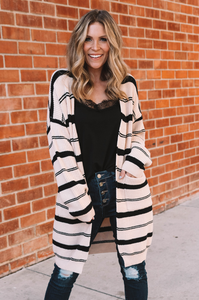 Canyon Stripe Cardigan