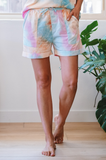 Sherbert Dyed Shorts