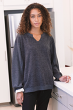 Meredith Notch Long Sleeve
